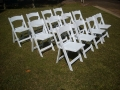 American wedding chairs